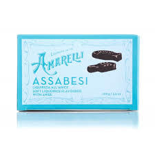 Amarelli Assabesi Soft Liquorice With Anise 100g