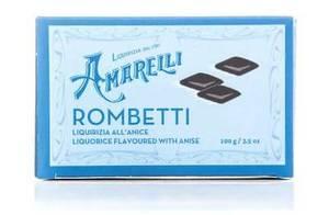 Amarelli Rombetti Liquorice With Anise 100g