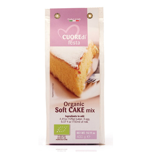 Cuore Organic Mix For Soft Cake 400g