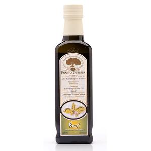 Frantoi Cutrera Flavored Extra Virgin Olive Oil Basil 250ml