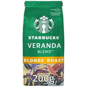 Starbucks Veranda Blend Blonde Roast Ground Coffee 200g