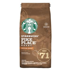 Starbucks Pike Place Roast Medium Roast Ground Coffee 200g