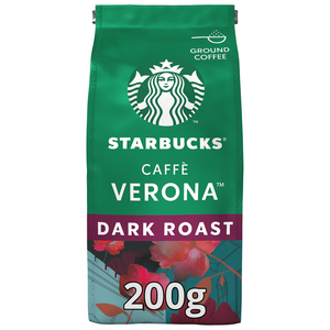 Starbucks Caffe Verona Dark Roast Ground Coffee 200g