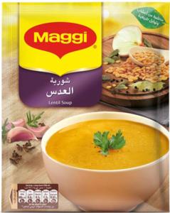 Maggi Lentil Soup Sachet 84g