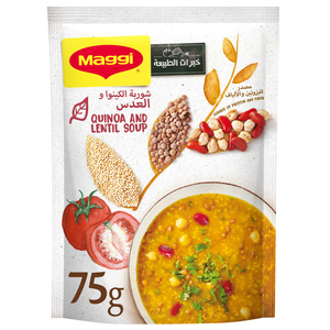 Maggi Lentil And Quinoa Soup, Super Grains 75g