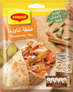 Maggi Shawarma Cooking Mix Sachet 40g