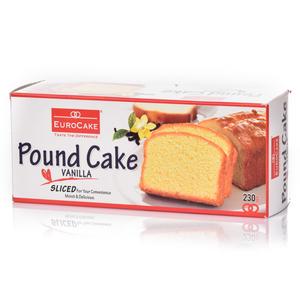 Eurocakes Pre-Sliced Vanilla Cake 230g