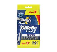 Gillette Blue 3 Comfort 12s