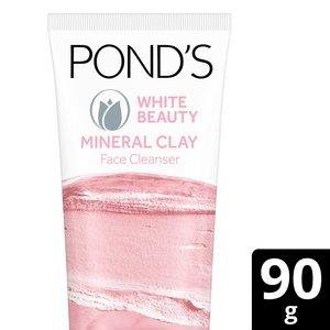 White Beauty Clay Foam Face Wash 90g