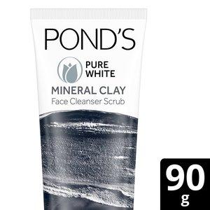 Pure White Clay Foam Face Wash 90g