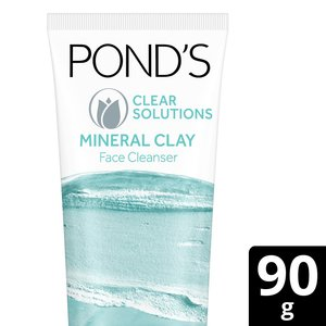 Clear Solution Clay Foam Face Wash 90g