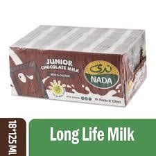 Nada Chocolate Flavoured Milk 18x125ml
