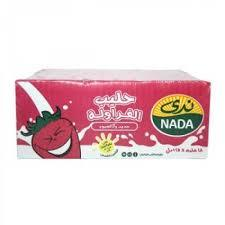 Nada Strawberry Flavoured Milk 18x125ml