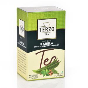 Terzo Bitter Gourd Mint & Moringa Tea 25s