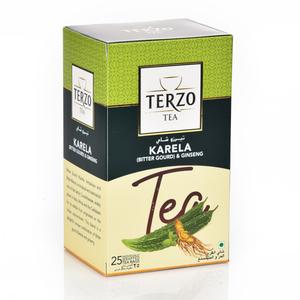 Terzo Bitter Gourd & Ginseng Tea 25s