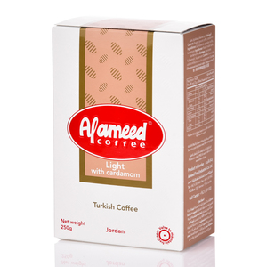 Al Ameed Coffee Light With Cardamom 250g