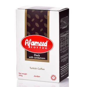 Al Ameed Coffee Dark With Cardamom 250g