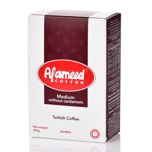 Al Ameed Coffee Medium Without Cardamom 250g