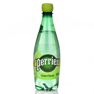 Perrier Lime Sparkling Water 500ml