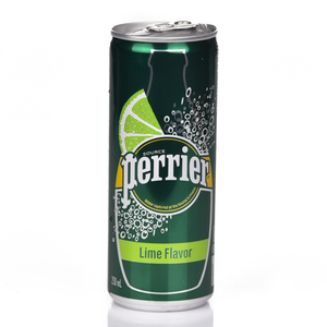 Perrier Lime Slim Can 250ml