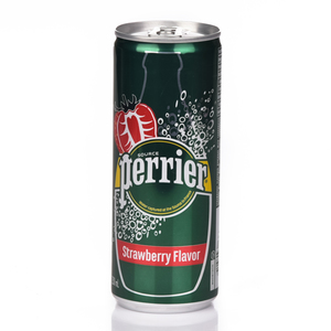 Perrier Strawberry Slim Can 250ml