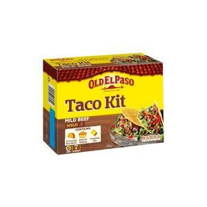 Old El Paso Mild Beef Taco Kit 308g