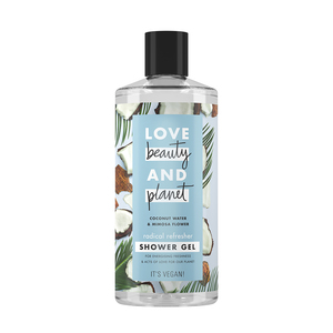 Love Beauty And Planet Shower Gel Radical Refresher Coconut Water & Mimosa Flower 400ml