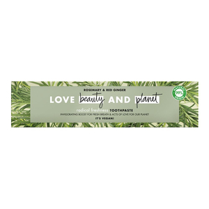 Love Beauty And Planet Radical Freshness Rosemary And Red Ginger Toothpaste 75ml