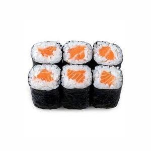 Salmon Hoso Maki 6pcs