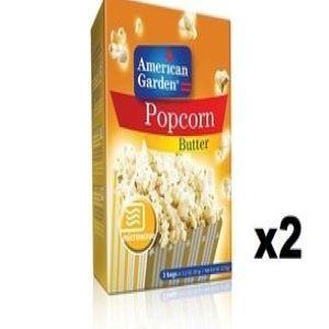 American Garden Popcorn Butter 2x9.6oz