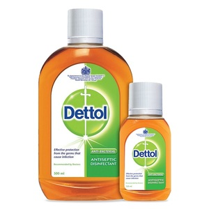 Dettol Disinfectant Antiseptic Liquid 500ml+125ml