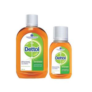 Dettol Antiseptic Antibacterial Disinfectant Liquid 500ml+125ml
