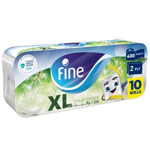 Fine Sterilized Toilet Paper Extra Long 10x400s