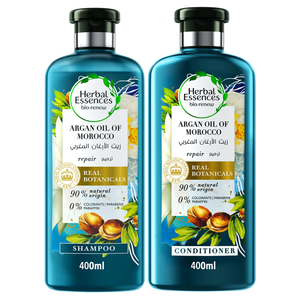 Herbal Essences Bio Renew Argan Oil Of Morocco Shampoo With Conditioner 400ml+400ml