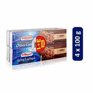 Americana Hershey Choco Cookie 4x100g