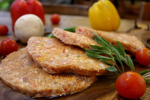 Chicken Burger With Cheese 500g