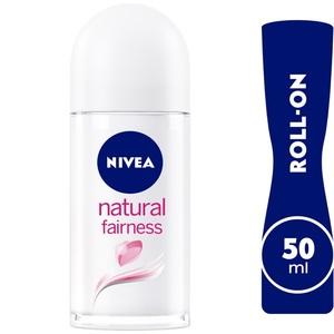 Nivea Natural Fairness Antiperspirant Roll-On For Women 50ml