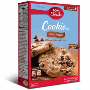 Betty Crocker Chocolate Chip Cookie Mix 496g