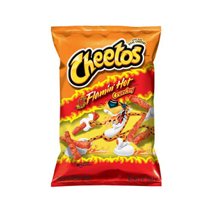 Cheetos Flamin' Hot Crunchy Cheese Flavored Snacks 1.25.oz