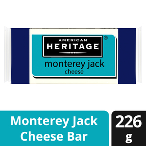 American Heritage Cheese Jack Natural Colby Block 226g