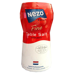 Nezo Salt Iodized 600g