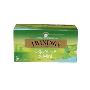 Twinings Goldline Green Tea Mint 25s