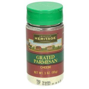 American Heritage Grated Parmesan 3oz