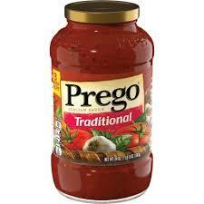 Prego Pasta Sauce Trad Pasta 680g