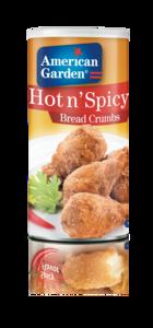 American Garden Hot & Spicy Bread Crumbs 15oz - 425g