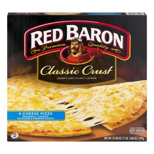 Pizza Classic Crust 4 Cheese 597gm