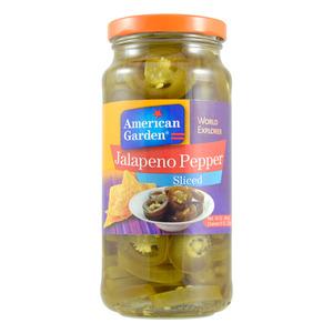 American Garden Jalapeno Peppers Sliced 454g