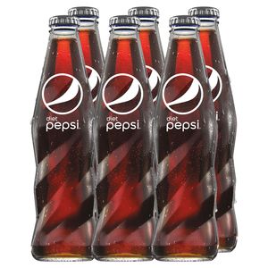 Diet Pepsi Glass Bottle 6x250ml