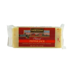 American Heritage Cheese Jack Natural Pepper Block 227g