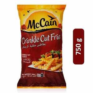 McCain Seasoned Crinkle Cut Fries 750g